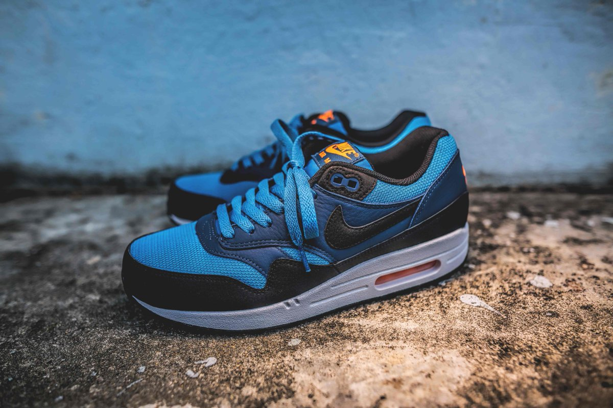 quality design 72fa6 12134 ... store crossover on twitter nike mens air max 1 essential in stratus blue  squadron blue available