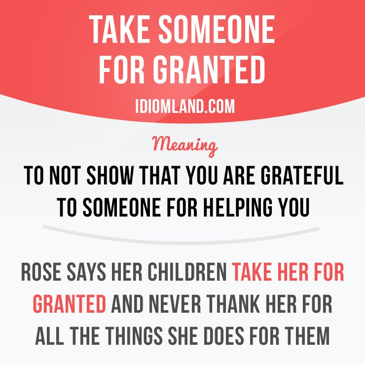 For taking granted others LovePanky