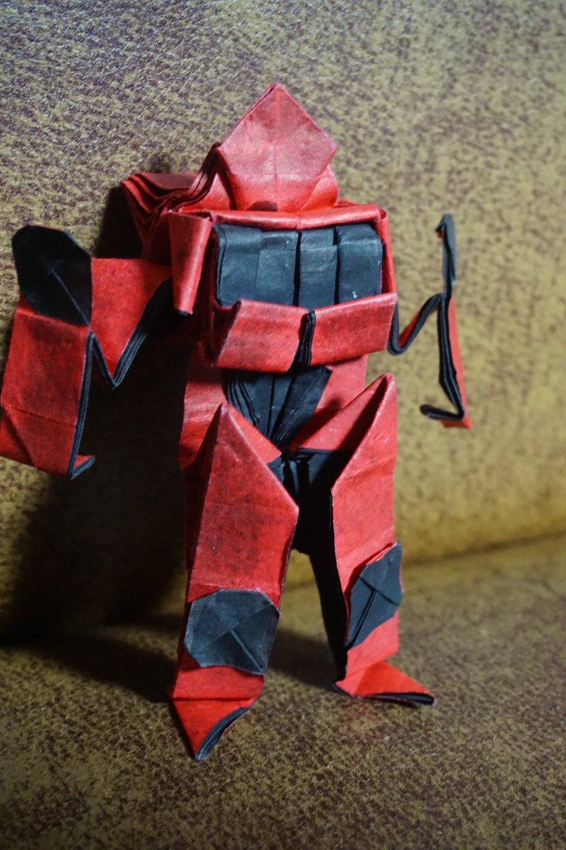 Ks kim on twitter tky 20 origami ks kim on twitter tky 20 origami transformer 20 paper size 45x45cm jeuxipadfo Images