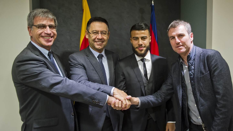 Рафинья останется в «Барселоне» до 2020 года