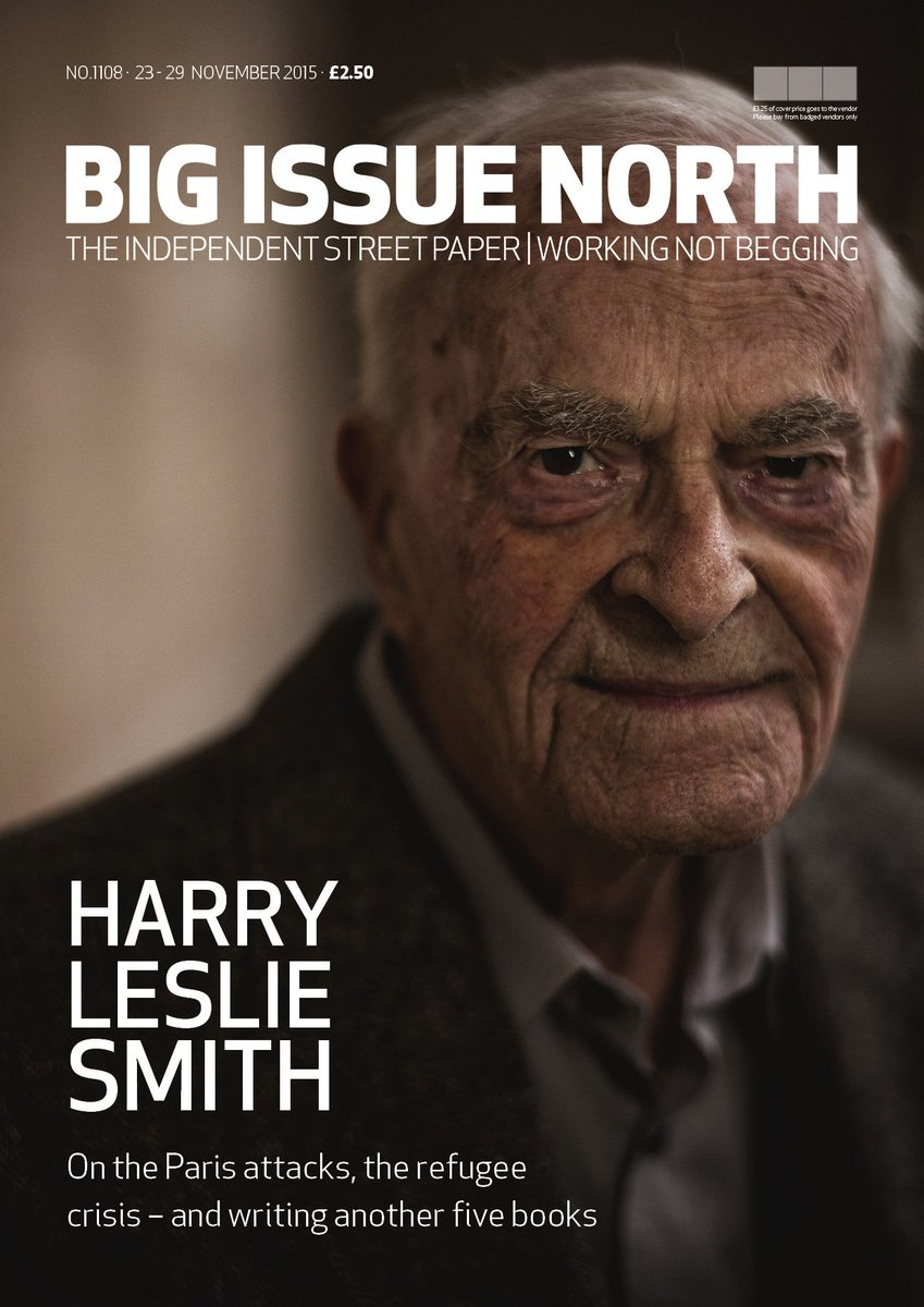 """""""@iconbooks: Look who's on the front of @bigissuenorth this week! @Harryslaststand https://t.co/e0lzHUSbMd"""""""