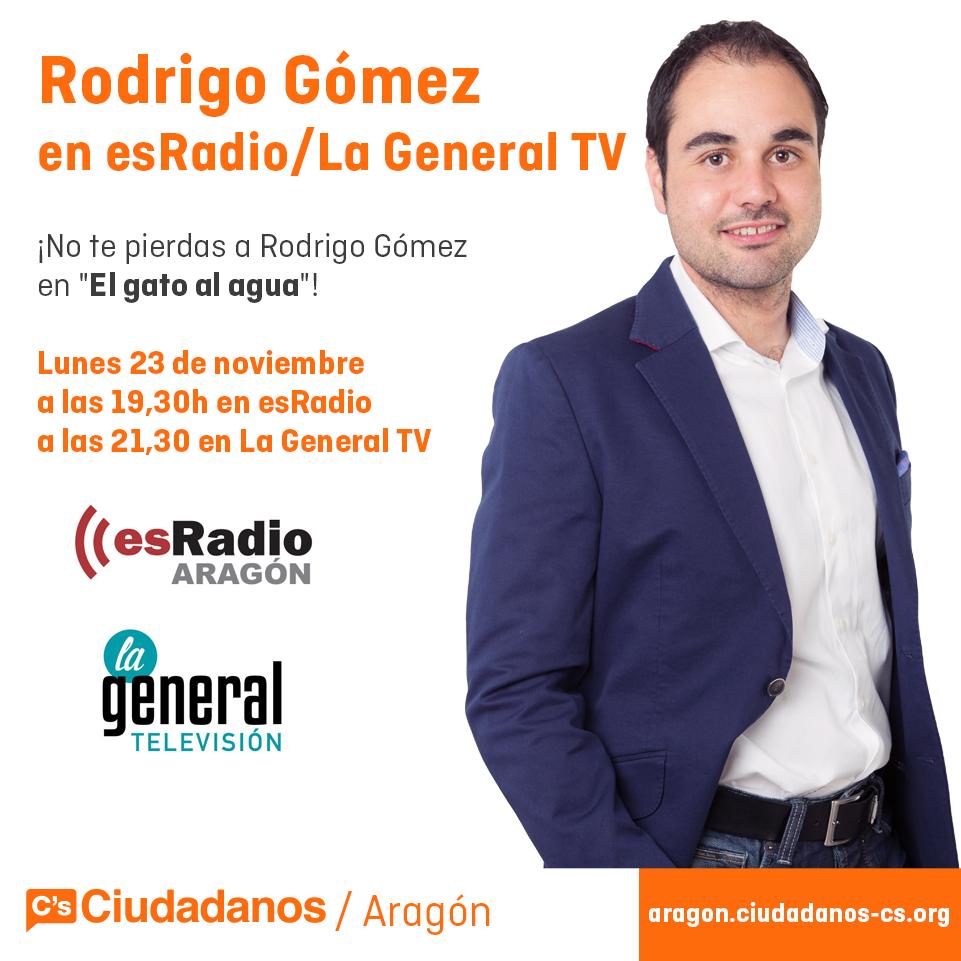 Thumbnail for Rodrigo Gómez en ZTV y La General TV (23/11/2015)