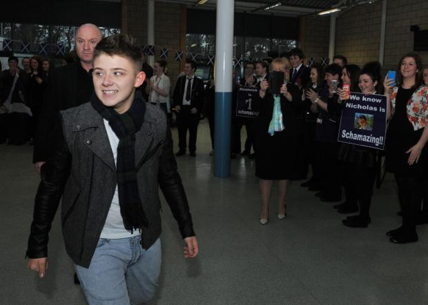 RT @TheEveningTimes: Former X Factor star @nickymcdonald1 to play City Halls gig for Beatson https://t.co/7a8KclpStb https://t.co/vIIfTptwjy
