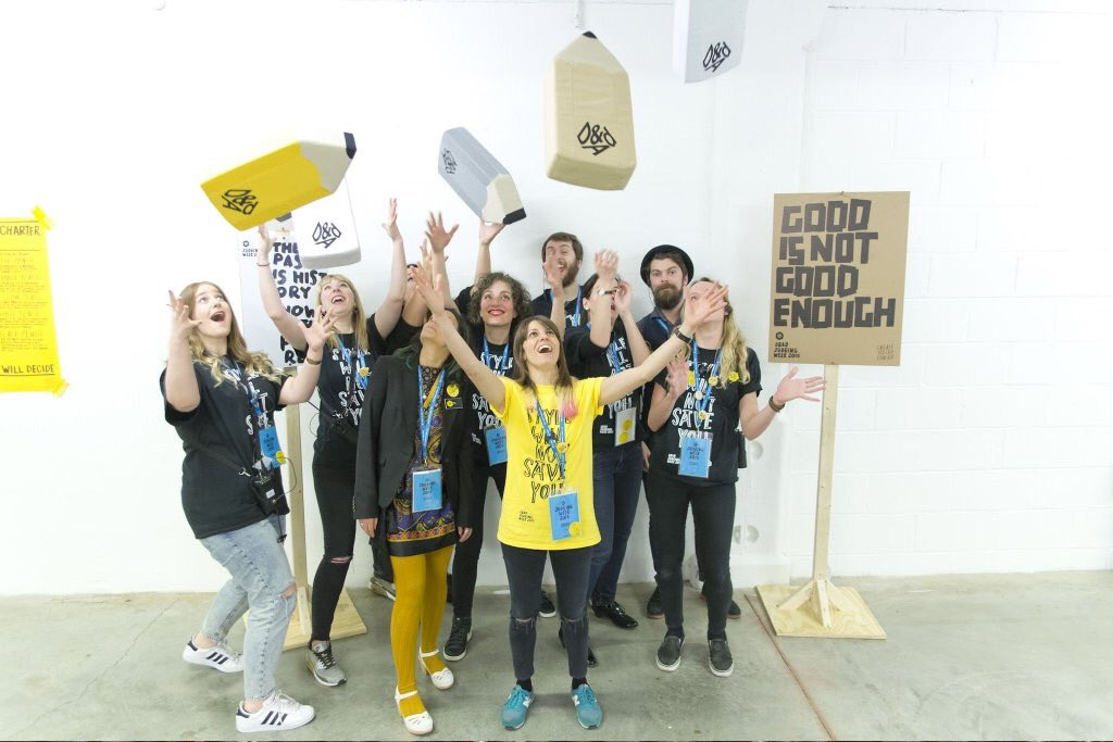 Recent grads! Come work on the D&AD production team and make this shit happen: http://ow.ly/2bwpqz