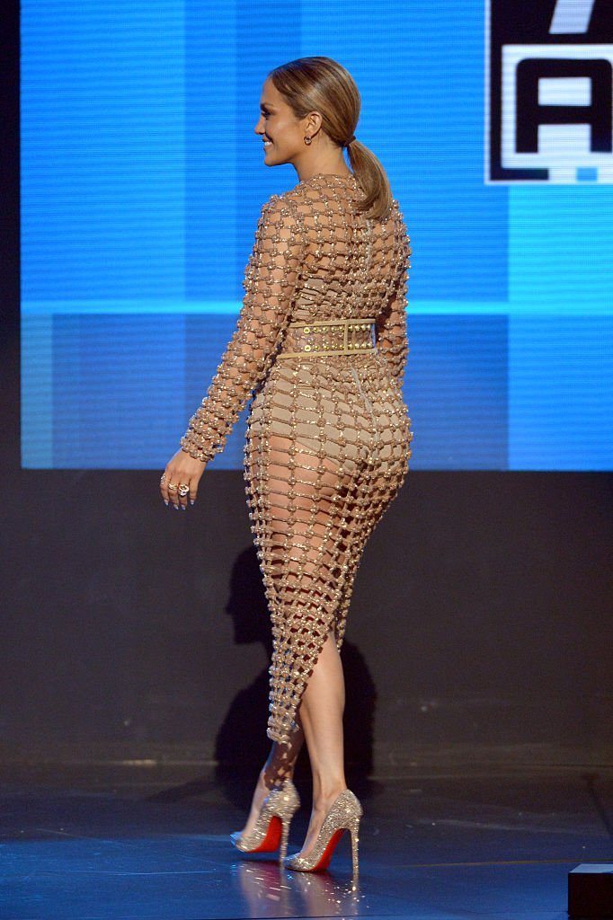 "Balmain on Twitter: "".@JLo wears a custom made Balmain ..."