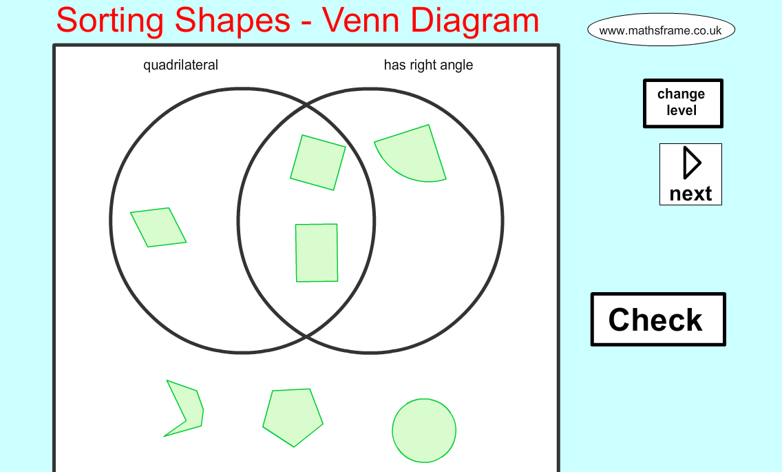 Scott Mckenzie On Twitter Good Web App For Sorting 2d Shapes With