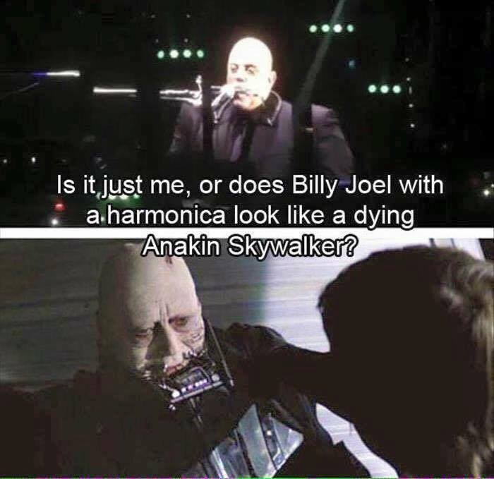Meme of the Day #BillyJoel #StarWars https://t.co/fFAYz3Mdqa