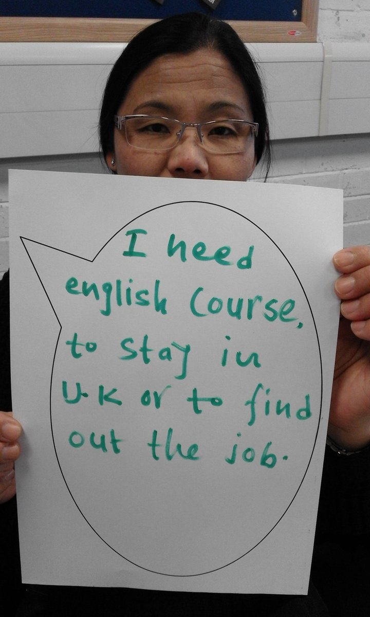 GCC esol learners don't want cuts to esol funding! pic.twitter.com/fUGWl25Yku