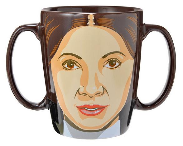 「レイア姫のマグカップ」というのを見つけたんだけどこれ、お茶飲む前にお茶吹きそうだ / https://t.co/l0CtRKn8bC https://t.co/vECmBXCtkU