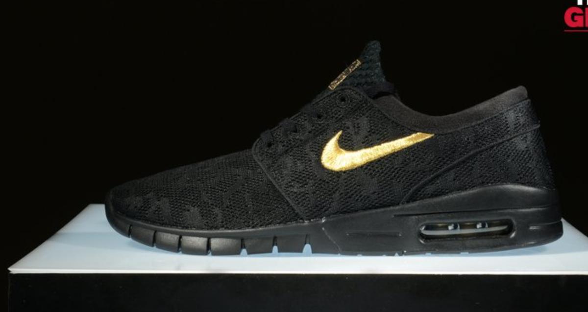 Nike Sb Janoski Max Black Gold