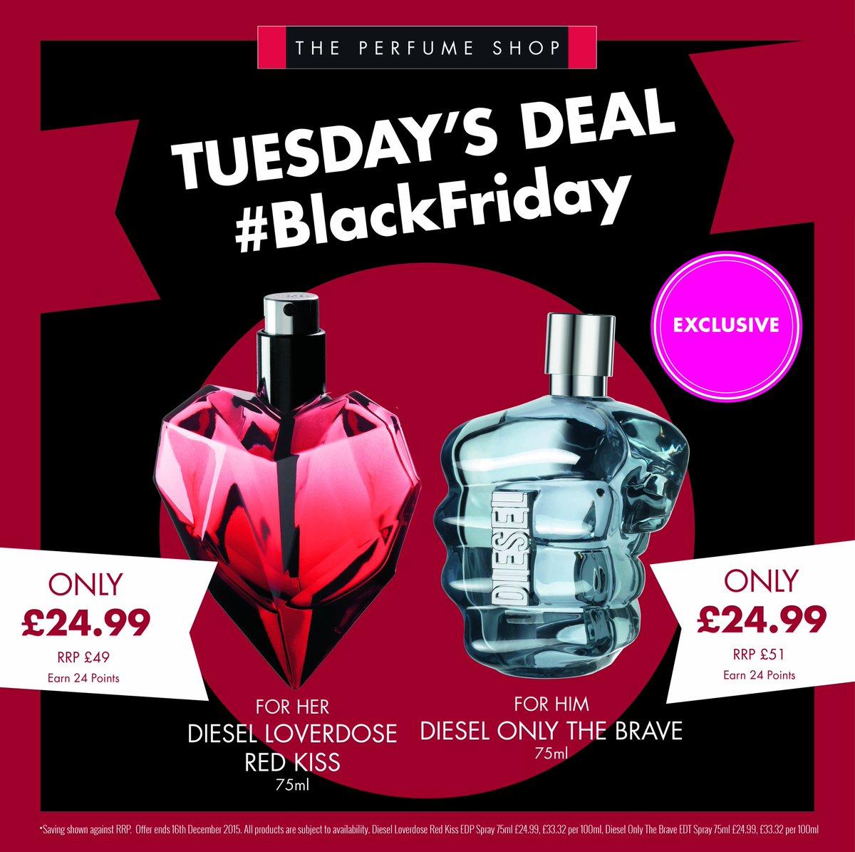 The Perfume Shop On Twitter Blackfriday Diesel Loverdose Red