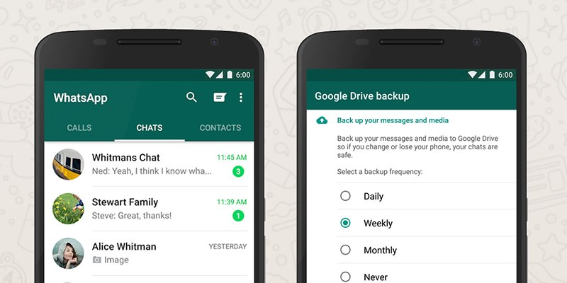 How to back up and restore WhatsApp chats with Google Drive:
