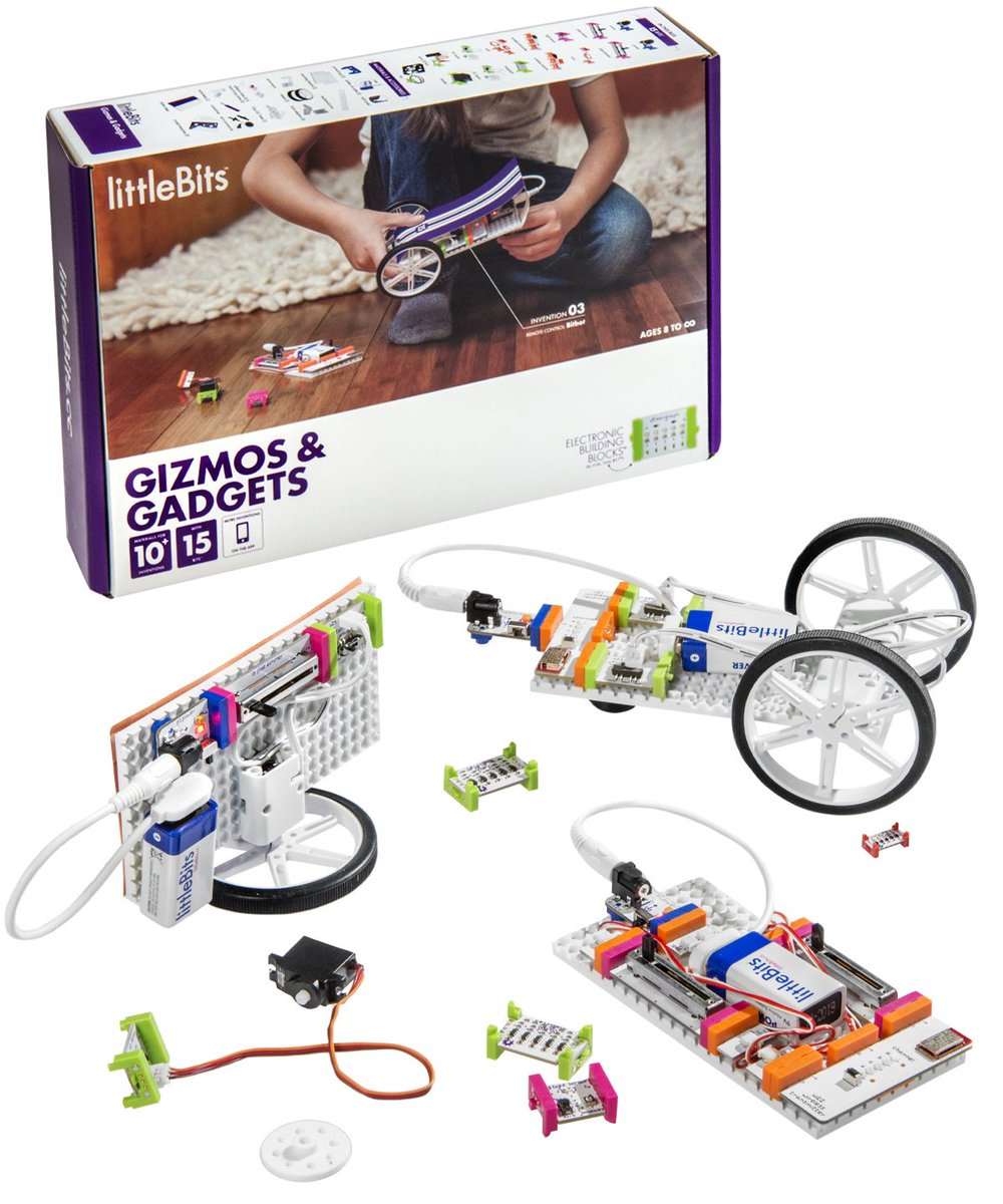 Image result for littlebits gizmos & gadgets kit