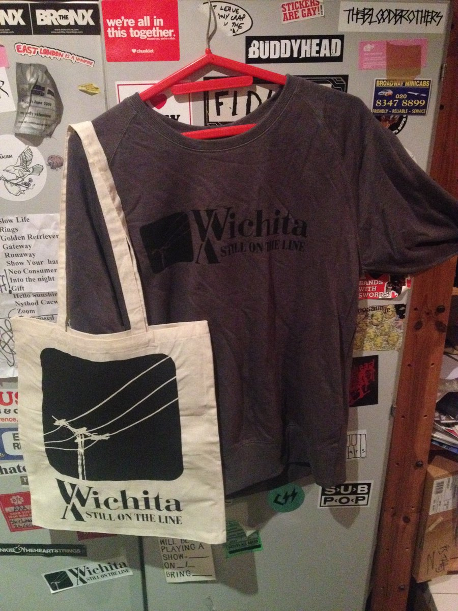 As a thank you for the bday wishes: a sweatshirt + tote bag +  a Wichita album of yr choice on vinyl. RT to win !! https://t.co/eBhRPZYRmR