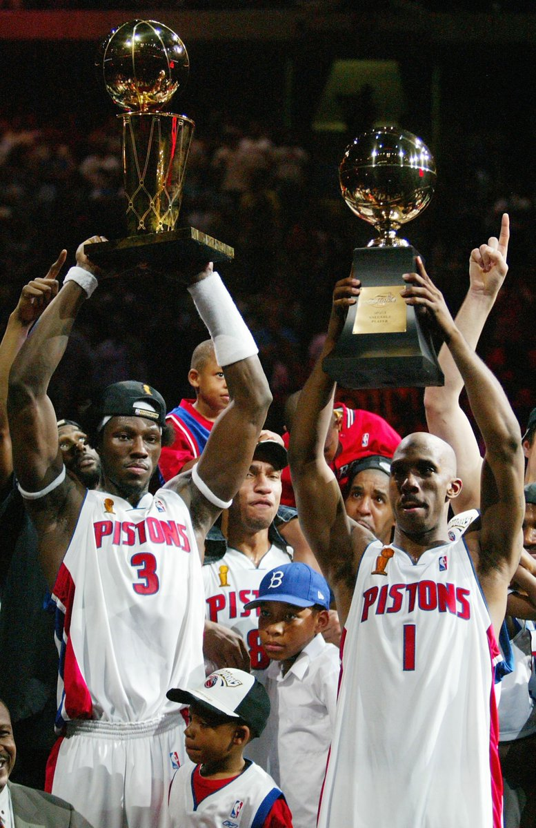 OFFICIAL: We'll be honoring and retiring jerseys for Ben Wallace on January 16 and Chauncey Billups on February 10!