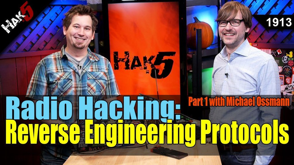 Radio Hacking: Reverse Engineering Protocols Part 1 - Hak5 1913 - https://t.co/drlXqFWpQi via Hak5 https://t.co/1jD7arBnv8