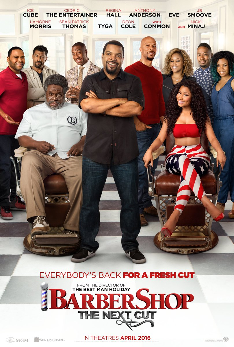 New #Barbershop: The Next Cut trailer coming tomorrow! https://t.co/YsBg1ww1M7