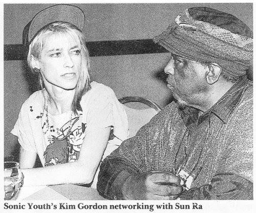 "Love this shot. @KimletGordon ""networking"" with Sun Ra: https://t.co/EMln1AM0tK"