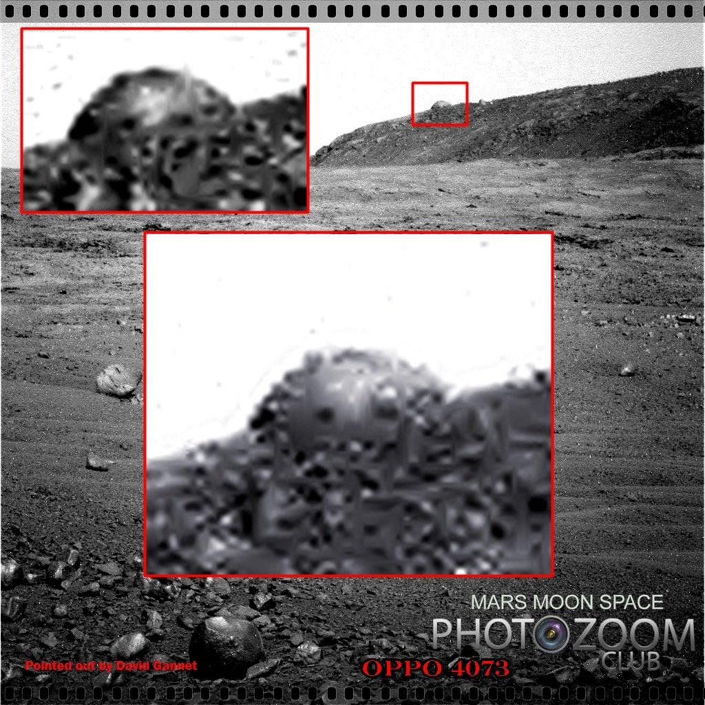 "Misteriosa ""cupola"" su Marte + Foto Video"