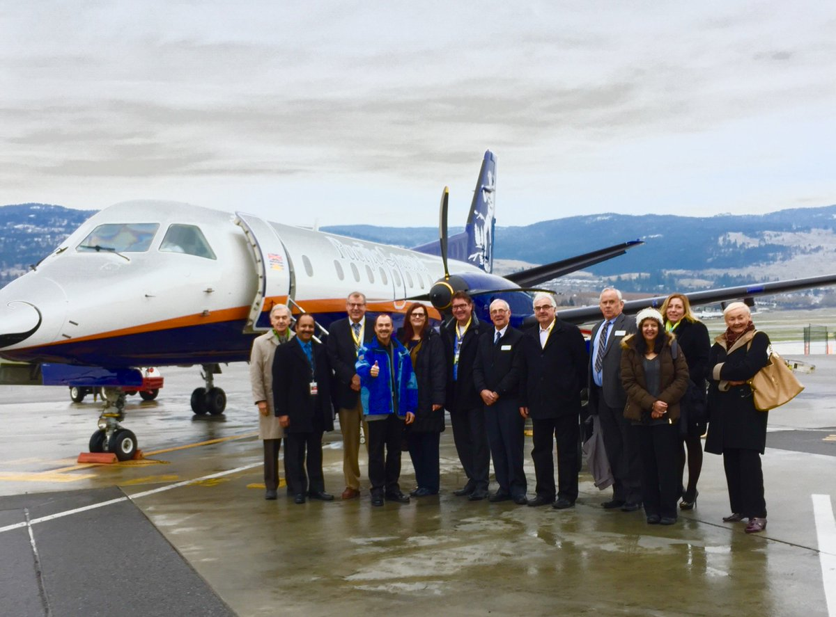 Today we launched @PacificCoastal's new non-stop service between @ylwkelowna and @Fly_YYJ! https://t.co/W8BTjaXreK https://t.co/2xqA5pOKTM