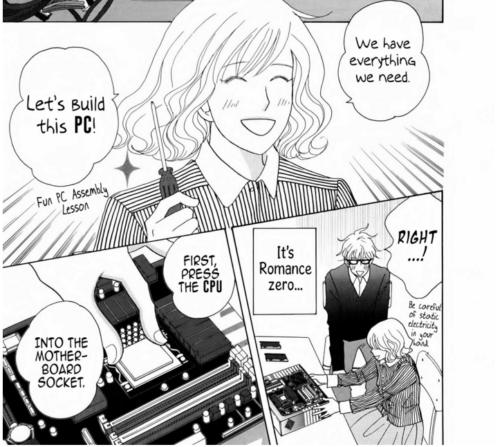 Manga Anime Romance Comics: Justine Hannequin (@Haniju)