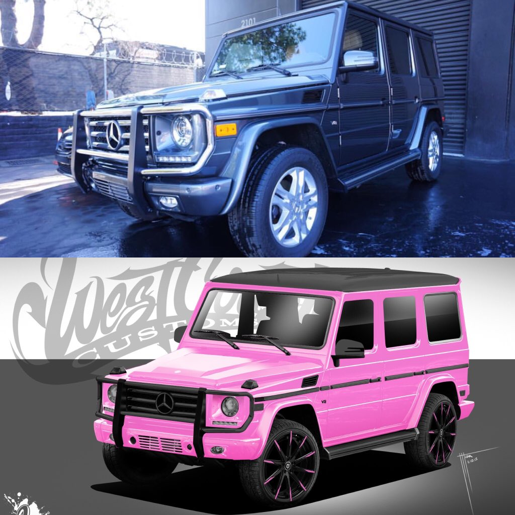 Trisha Paytas On Twitter Getting My Gwagon Back From Officialwcc This Week This Will Be The New Color Of My Car Merry Xmas To Me Https T Co Qxsu4bctqe