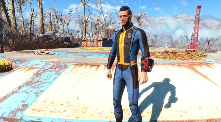 fallout 4 mods on twitter fallout4 proto vault suit https t co