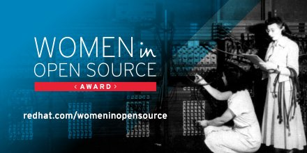 It's the final week to submit nominations for the Women in Open Source Award: https://t.co/0dASbT7C3R #womenintech https://t.co/NTfcZL55b2