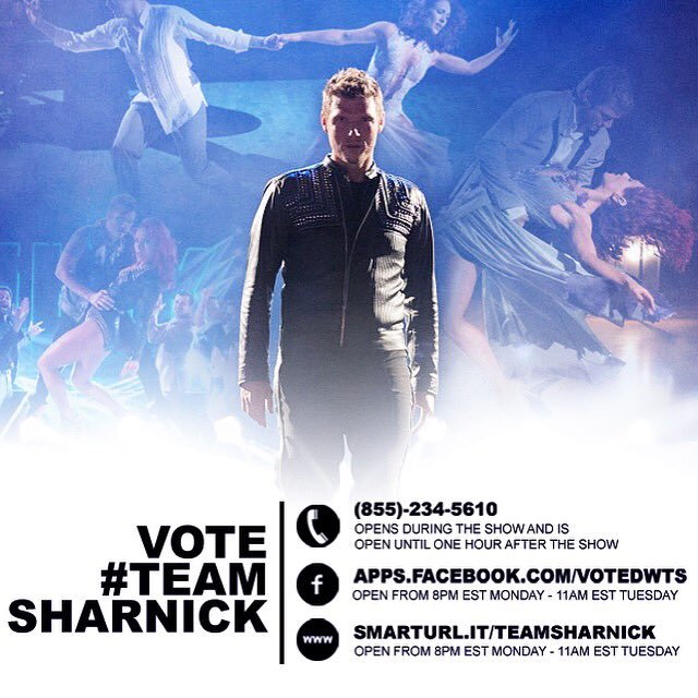 You better vote #teamsharnick @nickcarter or a TB Bucs football will hit u in the head. Haha https://t.co/mDCdCgnb8E