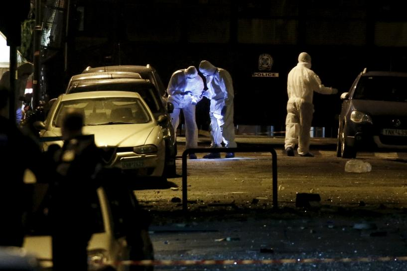 Bomb explodes in central Athens Greece