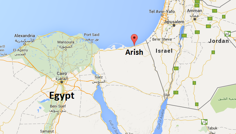 Two bombs explode al-Arish on the Sinai peninsula Egypt
