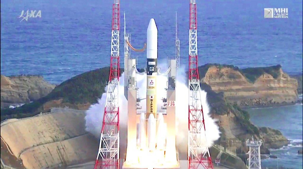 【H-IIAロケット29号機打ち上げ🚀】打ち上げ時刻が15時50分に変更になりましたが、今のところ全て順調です😆/20時頃からの衛星分離のライブ中継も目が離せません❗️👉 m.youtube.com/watch?v=SPi5np… pic.twitter.com/iIFx2LpblA