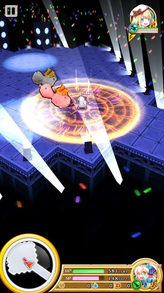 【白猫】オブシダン槍武器最終「真・心塊の三叉」のステータス&スキル性能情報!全体攻撃速度バフでエシリア涙目!?被ダメSP回復も搭載!