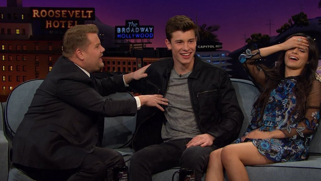 @latelateshow Thank you for the best interview with Shawn and Camila! It was hilarious hahaha.