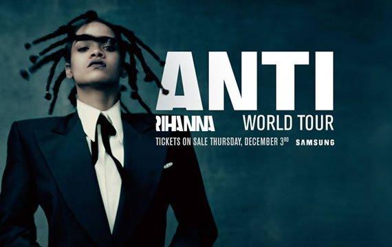 L'#AllianzRiviera accueillera #Rihanna en juillet 2016 pour sa tournée #ANTIWorldTour ! Billetterie dès le 03/12/15.