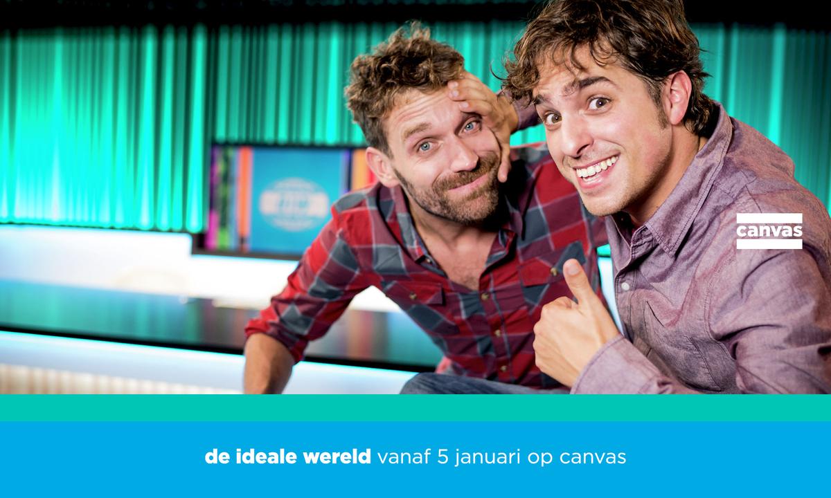 De Ideale Wereld draait door op canvas. Vanaf 5 januari. #diw #canvas https://t.co/QSZWLaFhvb