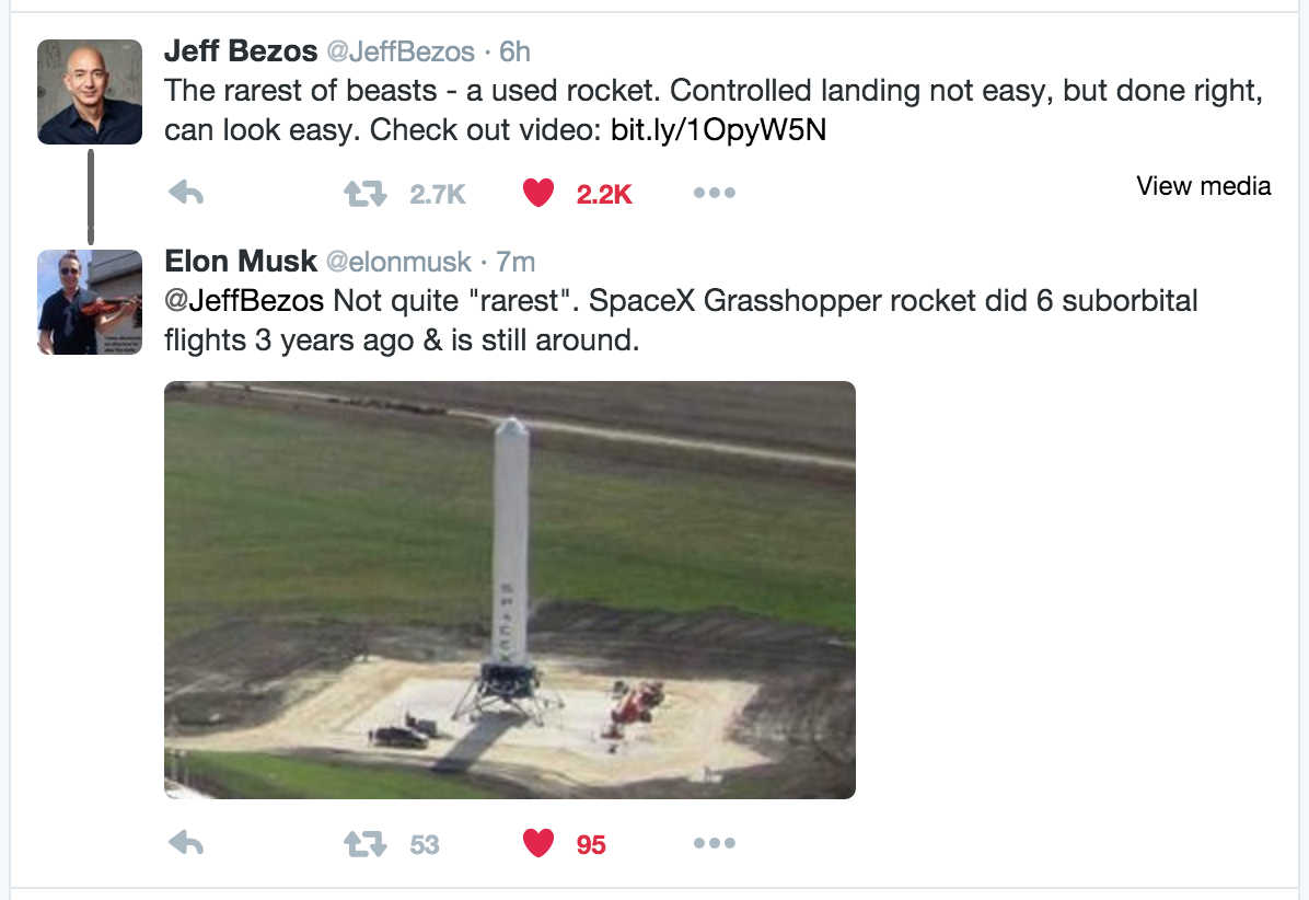Someday, when you have your own space flight company, you can be a part of this thread. https://t.co/9PB7XSmeaH