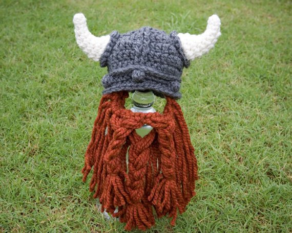 Lotr Stuff On Twitter Viking Hat Beard Crochet Pattern Baby