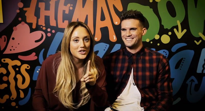 VIDEO EXCLUSIVE! @GazGShore and @CharlotteGShore did the relationship tag >> https://t.co/IezUss4Jk0 #socute