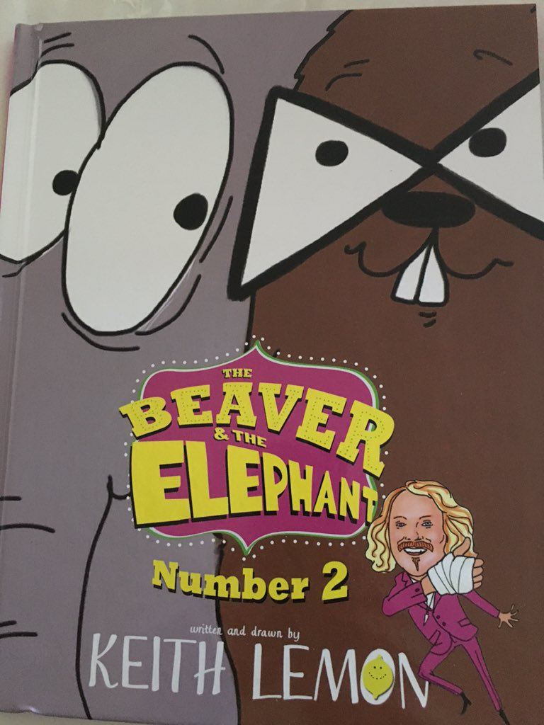 RT @shirazalar: @lemontwittor whoosh, it's come Beaver & The Elephant number 2 for my 8 year old Happy crimbo one n all! https://t.co/dRcbH…