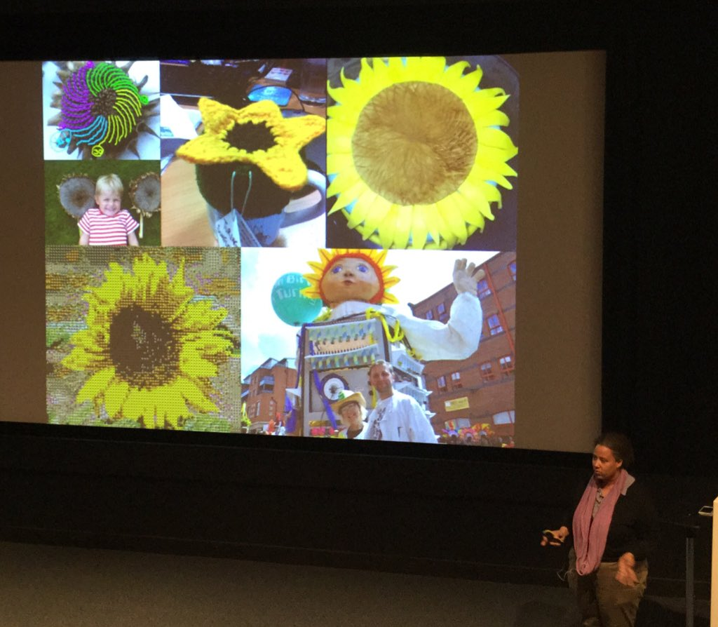 .@erinmaochu some of the creative responses to Turing's Sunflowers #CitizenScience https://t.co/L4Wn5kDDPu