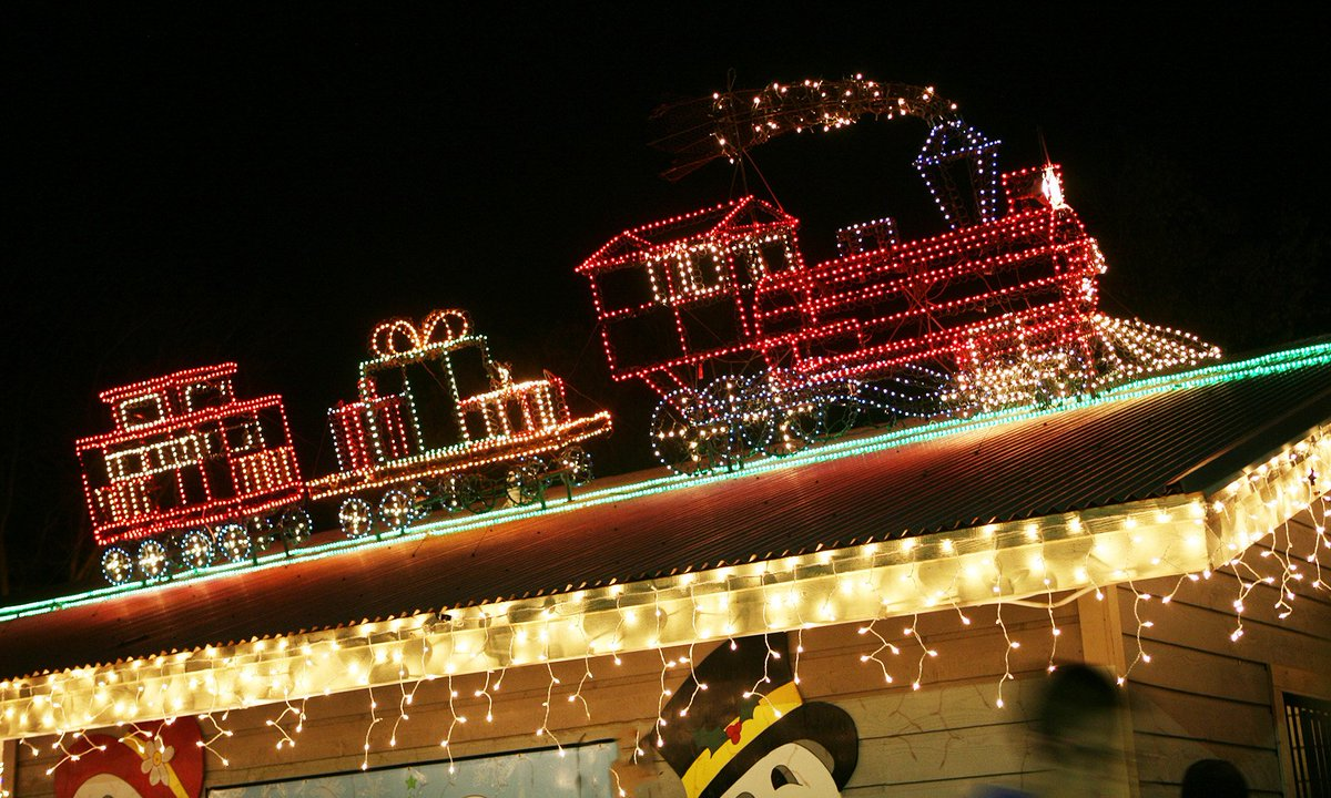 college station on twitter lights are on at stephen c beachy central park enjoy free christmas light displays from 6 11p until jan1 - College Station Christmas Lights Park