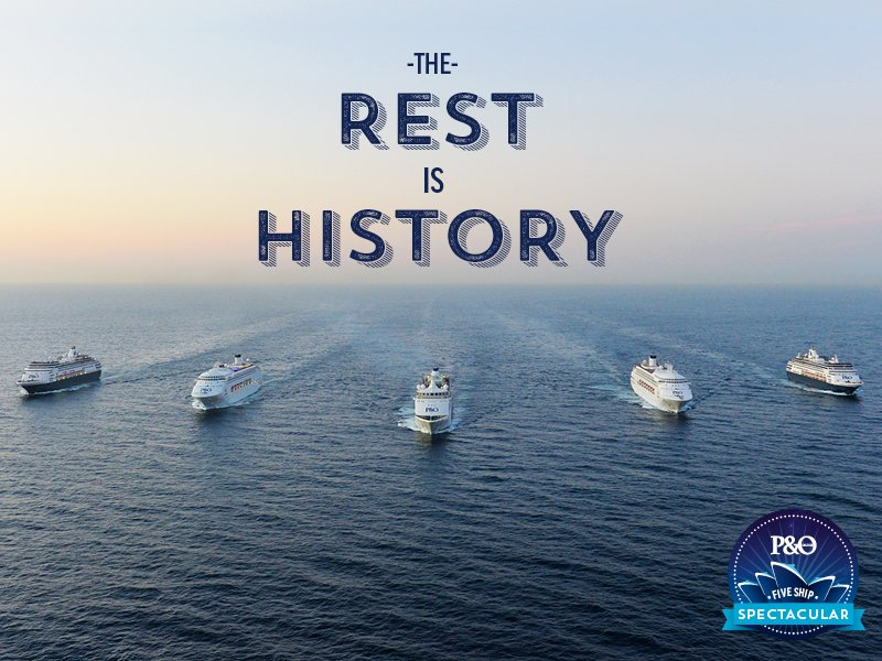 The largest fleet in Aus is now in Sydney Harbour. History in the making. #5ships #pocruises https://t.co/Tt9idKyAqR