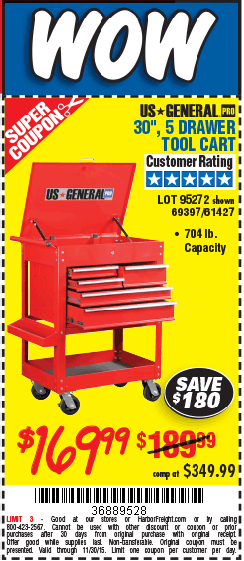 """harbor freight tools on twitter: """"get this us general pro 30 in. 5 ..."""