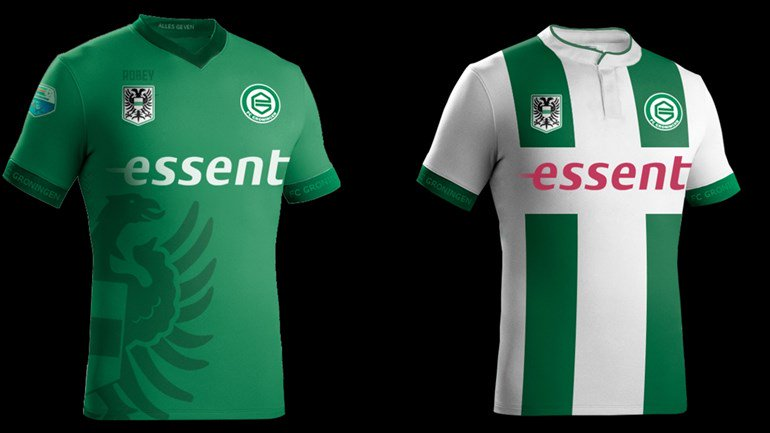 Football Kit News On Twitter New Kits For Dutch Club Fc Groningen For 2016 17 Home And Green Away Shirt As Chosen By Their Fans Eredivisie Https T Co Ea1pnzwbqi
