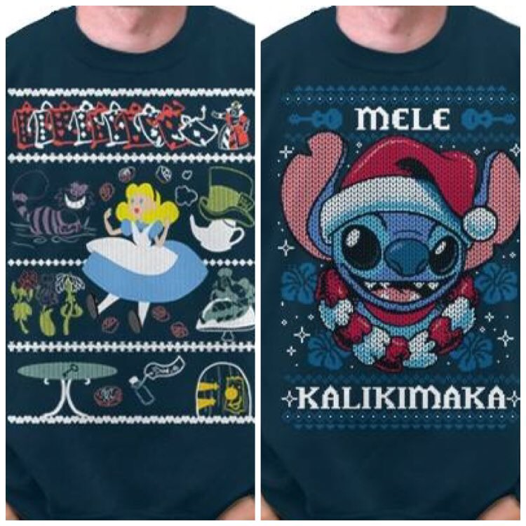 Disney Ugly Christmas Sweater.Inside The Magic On Twitter Disney Ugly Christmas