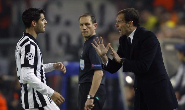 Juventus: Allegri suona la carica contro il Manchester City