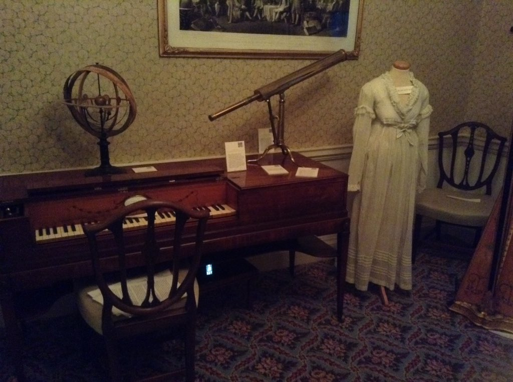 Gli oggetti personali dell'astronoma Caroline Herschel