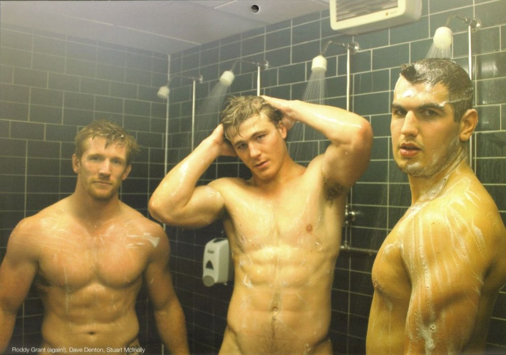 Such sexy communal shower room fuck this! Love