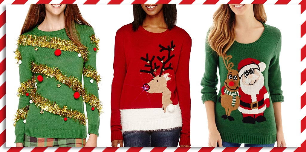jcpenney on twitter fact ugly christmas sweaters are cute shop em all during blackfriday. Black Bedroom Furniture Sets. Home Design Ideas